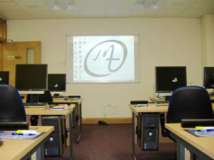 Our training suites are located in Belfast city centre - just opposite the Europa Hotel